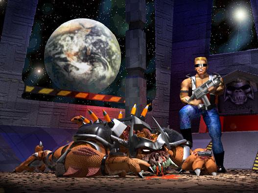 Duke Nukem Concept Art Battlelord